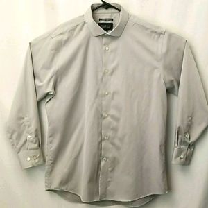 Awearness Kenneth Cole 16.5-32-33 Grey Button Up